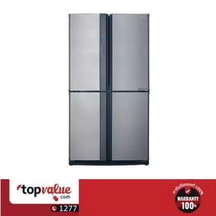 SHARP ตู้เย็น 4 ประตู รุ่น SJ-FX74T-SL