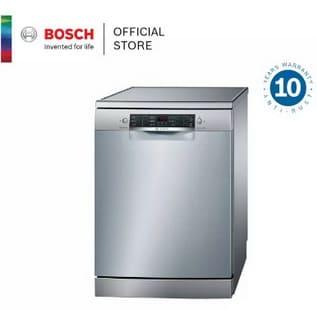 Bosch เครื่องล้างจานแบบตั้งพื้น ขนาด 60 cm รุ่น SMS46GI01P