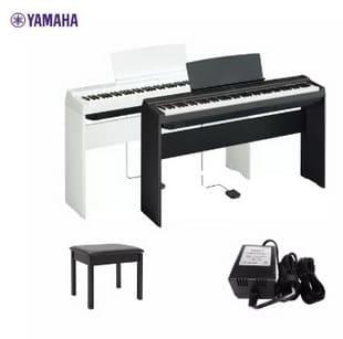 Yamaha P-125 Black เปียโนไฟฟ้ายามาฮ่า