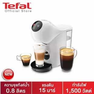 Tefal เครื่องชงกาแฟแบบแคปซูล รุ่น KP240166 GENIO S BASIC WHITE